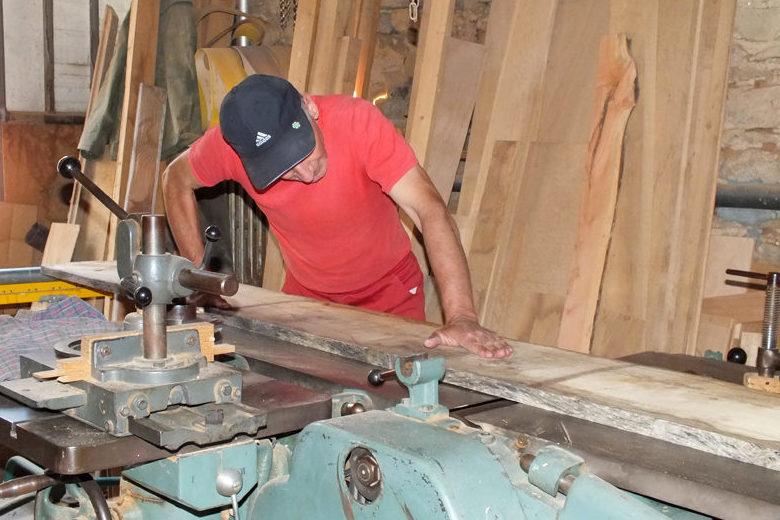 photo reportage artisan dans son atelier