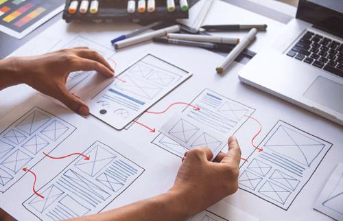 conception UI/UX design centrée sur l'utilisateur