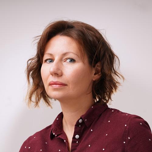 Veronique Penot : portrait en studio photo